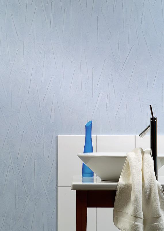 Barva Fjordblau - modrá / Technika Antik