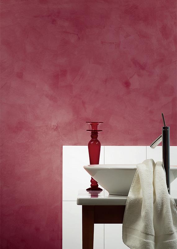 Barva Royal - purpurová / Technika Nuvolato