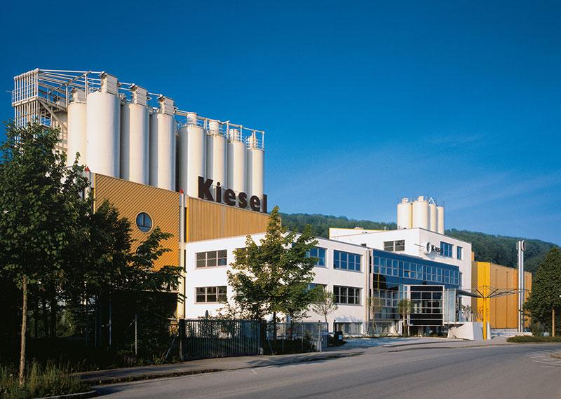 Budování sídla společnosti Kiesel v Esslingen-Sirnau